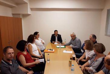 Η επίσπευση των φακέλων βελτίωσης και ανάπτυξης γεωργικών εκμεταλλεύσεων στο επίκεντρο σύσκεψης
