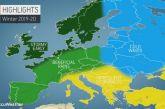 Ήπιο Χειμώνα προβλέπουν και για την Ελλάδα Αμερικανοί μετεωρολόγοι