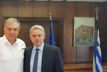 Επικοινωνία  Καραγκούνη με τον  Υπουργό Εσωτερικών για τις καταστροφές στο Μεσολόγγι