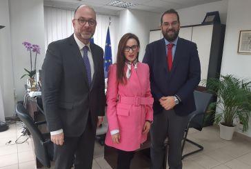Στον Περιφερειάρχη Δυτικής Ελλάδας η Πρέσβης της Βοσνίας – Ερζεγοβίνης