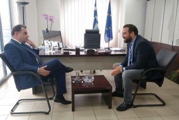 Συνάντηση του Περιφερειάρχη  με τον Υφυπουργό Ψηφιακής Διακυβέρνησης