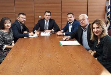 Τα ζητήματα των ΟΕΒ επι τάπητος στη συνάντηση του Αντιπεριφερειάρχη Αγροτικής Ανάπτυξης με τον Σκρέκα