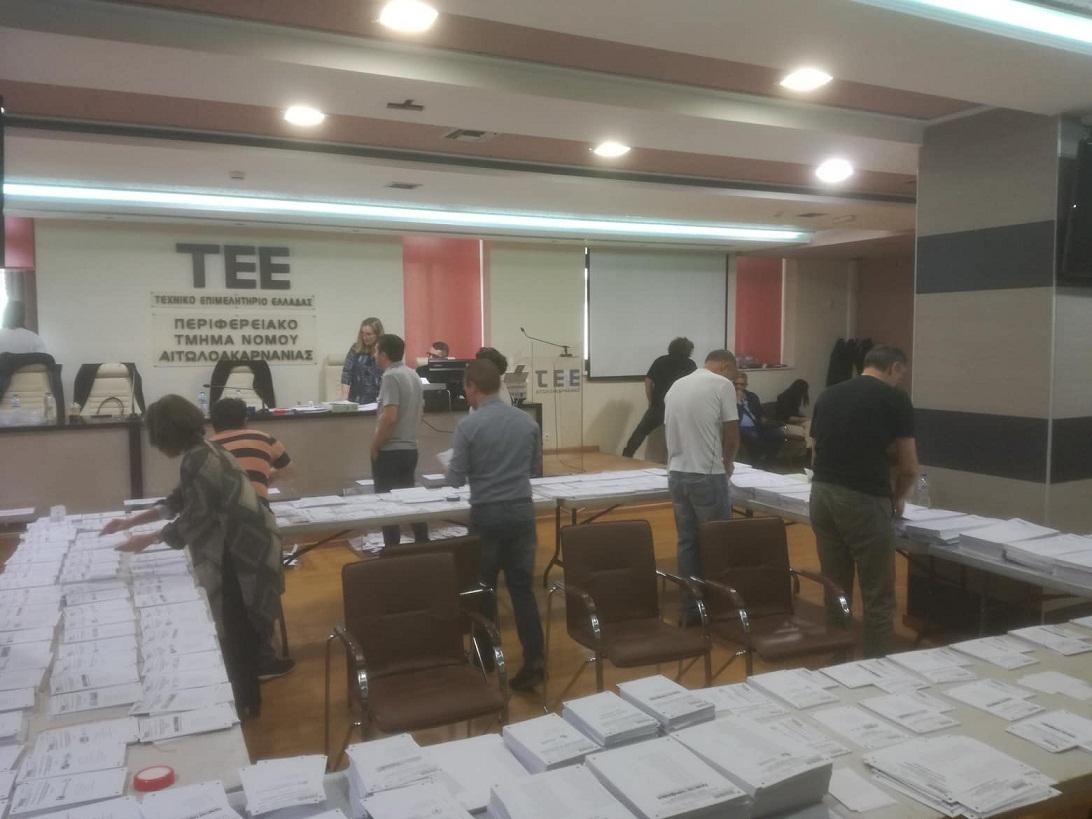 Eκλογές ΤΕΕ: μεγάλη νίκη της Δημοκρατικής Κίνησης Μηχανικών στην Αιτωλοακαρνανία