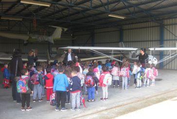 Αερολέσχη Αγρινίου: Επισκέψεις σχολείων και πτήσεις για την γιορτή της Αεροπορίας