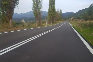 Σημαντική βελτίωση σε τμήματα της Εθνικής Οδού Αγρινίου – Θέρμου