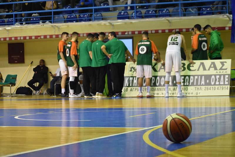 Α2-Μπάσκετ: Στο ΣΕΦ απέναντι στον Ολυμπιακό ο ΑΟ Αγρινίου