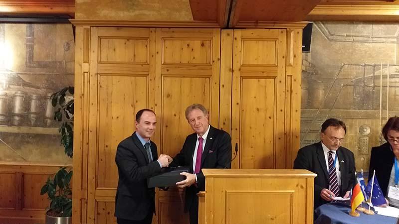Στην Ελληνογερμανική Συνέλευση εκπροσωπώντας την Περιφέρεια ο Λάμπρος Δημητρογιάννης