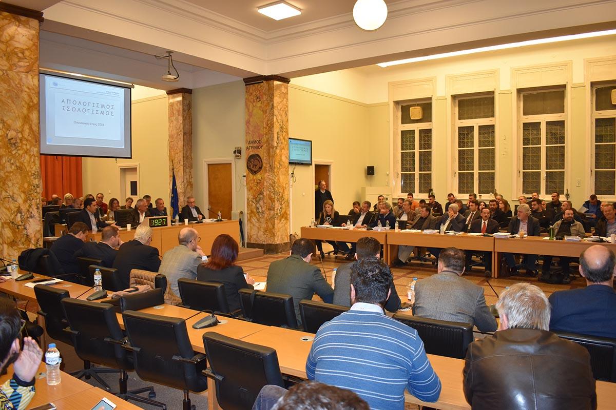 Διπλή συνεδρίαση του Δημοτικού Συμβουλίου Αγρινίου την προσεχή Τετάρτη