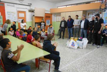 """Το 1ο Ειδικό Δημοτικό Σχολείο Αγρινίου ευχαριστεί τους """"Warriors"""""""