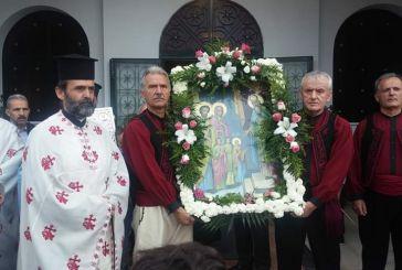 Ημέρα γιορτής στην Παντάνασσα Αγρινίου
