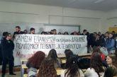 """""""Καρφώνουν"""" την ανακολουθία της Πρυτάνεως οι φοιτητές του Τμήματος ΔΠΠΝΤ"""