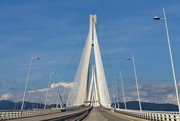 Κυκλοφοριακές ρυθμίσεις από τη Δευτέρα στη Γέφυρα Ρίου – Αντιρρίου