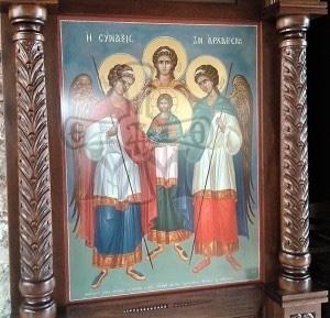 Αγρυπνία στην Ιερά Μονή Μυρτιάς