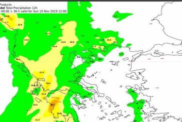 Νέο έκτακτο δελτίο καιρού: Έρχονται ισχυρές βροχές και καταιγίδες