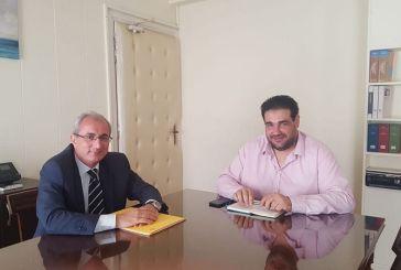 Mε τον υφυπουργό Εσωτερικών συναντήθηκε ο δήμαρχος Θέρμου