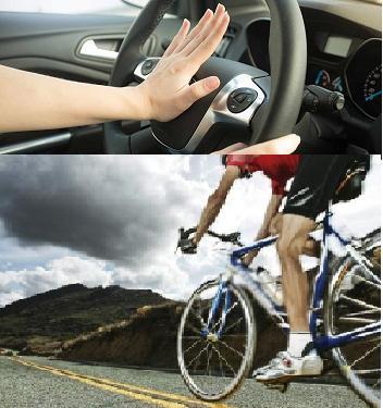 Προς τι η άσκοπη κόρνα σε ποδηλάτες πόσο μάλλον όταν κινούνται στο χάλια οδικό δίκτυο της Αιτωλοακαρνανίας;