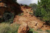 Εικόνες από την κατολίσθηση στην περιοχή Λούμπα στον Αστακό