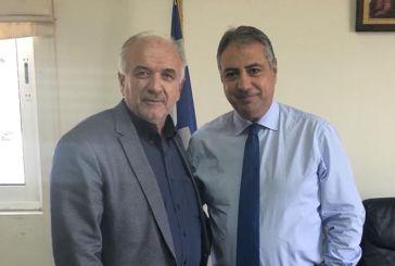 Συνάντηση του Δημάρχου Μεσολογγίου με τον Διοικητή 6ης ΥΠΕ