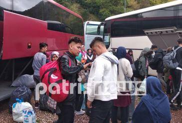 Έφτασαν οι πρώτοι μετανάστες στην Ιερά Μόνη Κάτω Δίβρης στην Ηλεία (φωτο)
