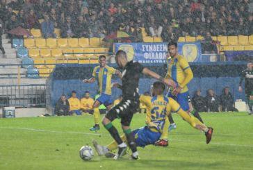 Ψυχωμένος Παναιτωλικός μπλόκαρε τον Παναθηναϊκό (0-0)