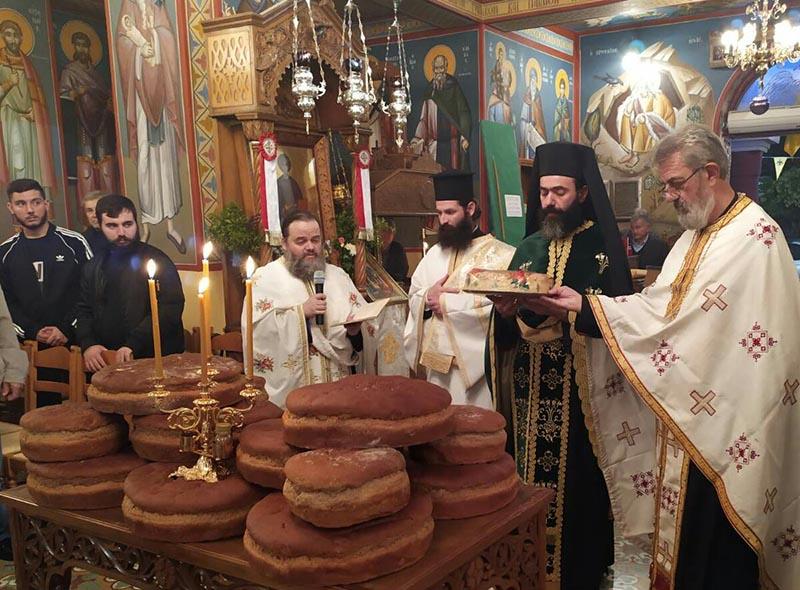 Εορτάστηκε η μνήμη του Οσίου Γεωργίου (Καρσλίδη) στον Ι.Ν. Αγίου Παντελεήμονος Κυψέλης Αγρινίου