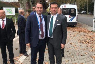 Συζήτησε και με τον δήμαρχο Κωνσταντινούπολης ο Θ. Παπαθανάσης
