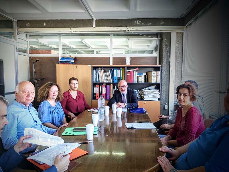 Συνάντηση του Αντιπεριφερειάρχη Π. Σακελλαρόπουλου με στελέχη της Αποκεντρωμένης Διοίκησης