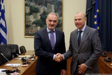 Συνάντηση Σαλμά με τον Πρέσβη της Τσεχίας