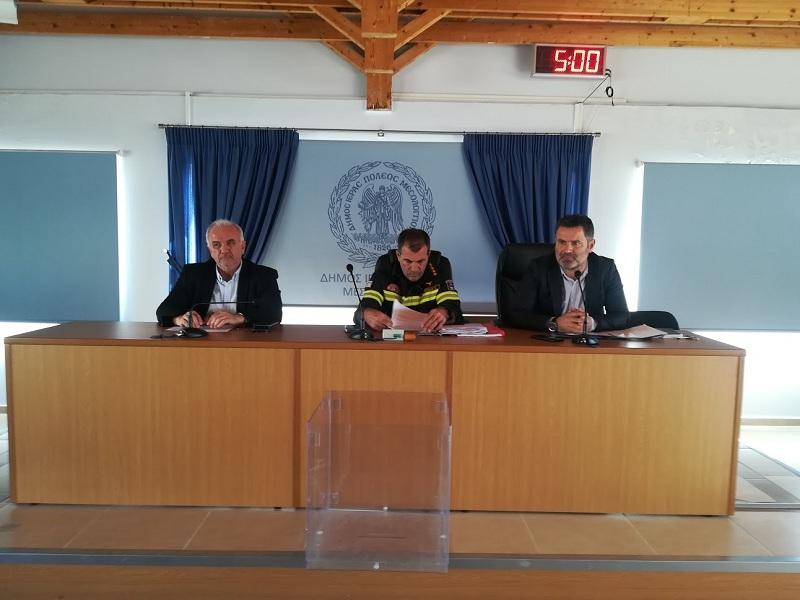 Συνεδρίασε το Συντονιστικό Πολιτικής Προστασίας του δήμου Μεσολογγίου