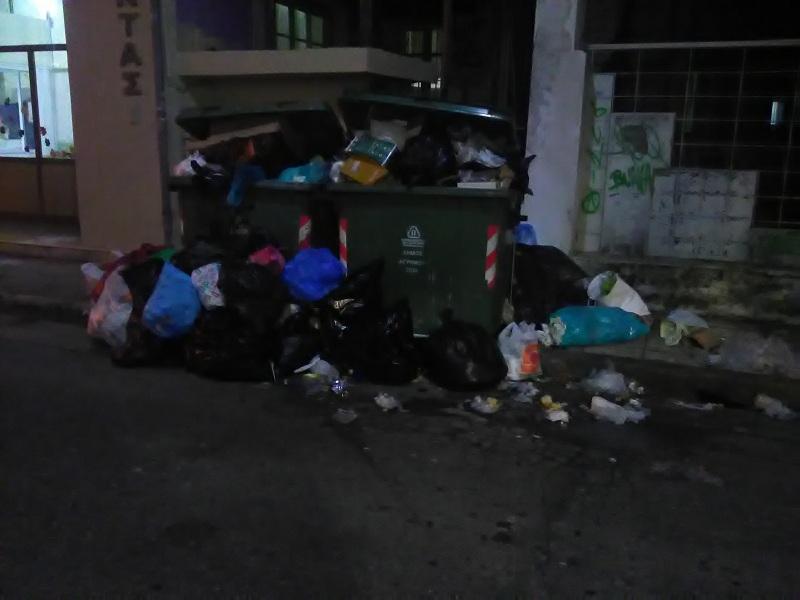 Αγρίνιο: «Φίσκα» οι κάδοι έξω από το ΚΔΑΠ «Φαντασία»