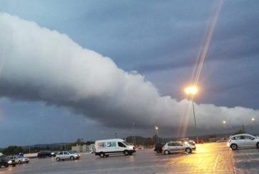 Καιρός: Το roll cloud σκέπασε την Αττική