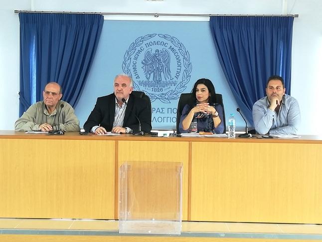 Σύσκεψη για τα σχολεία του Δήμου Mεσολογγίου
