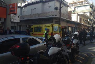 Σοβαρό τροχαίο με τραυματισμό πεζού στο κέντρο του Αγρινίου