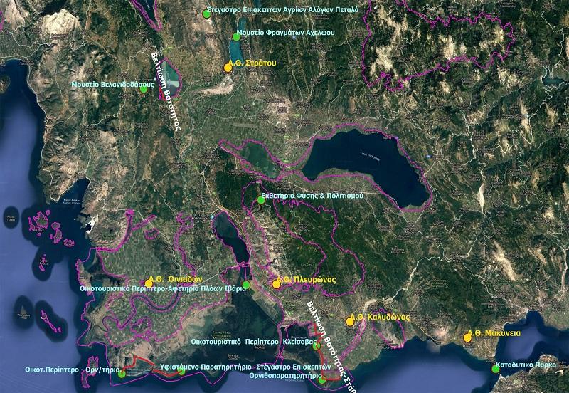 """Η πρόταση του Φορέα Λιμνοθάλασσας Μεσολογγίου- Ακαρνανικών Ορέων «για να μπει ο νομός στον τουριστικό χάρτη"""""""