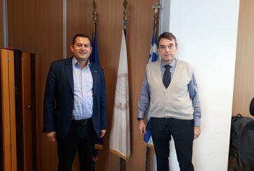 Στον Πρόεδρο του ΟΠΕΚΕΠΕ ο Αντιπεριφερειάρχης Αγροτικής Ανάπτυξης Θ. Βασιλόπουλος