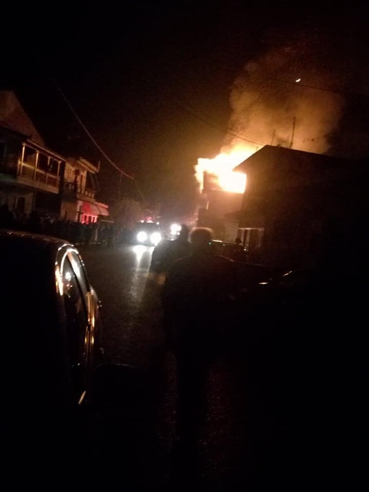 Στις φλόγες κατοικία στο Δοκίμι