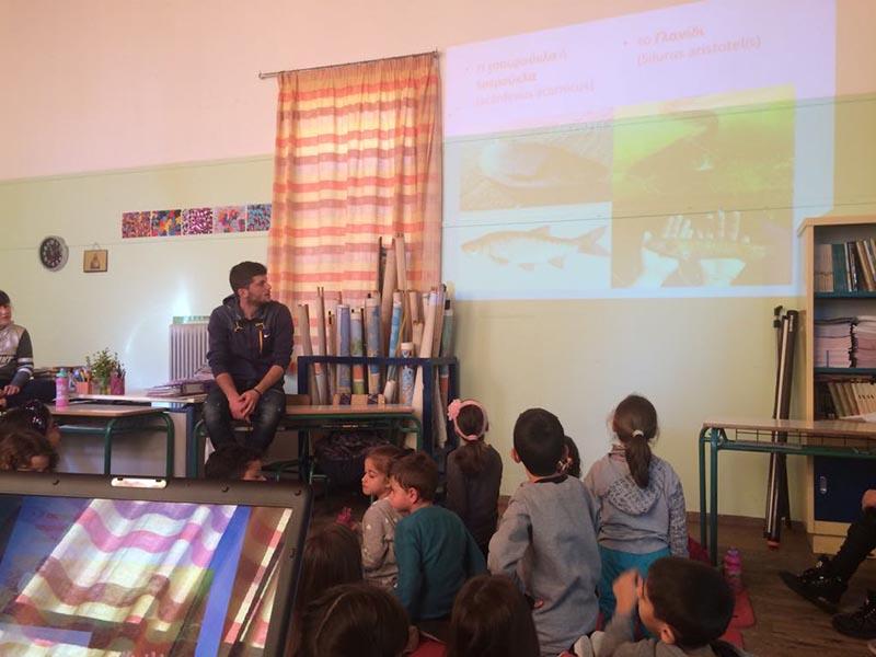 Ενημέρωση μαθητών του Δημοτικού Σχολείου Παντάνασσας για τα τοπικά αγροδιατροφικά προϊόντα