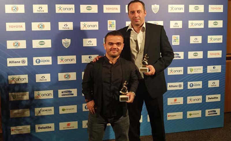 Βραβεύτηκε ο Ξηρομερίτης Δ. Μπακοχρήστος ως ένας εκ των κορυφαίων αθλητών με αναπηρία για το 2019