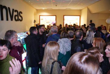 """Αγρίνιο: μεγάλη συμμετοχή στο πάρτι στο χώρο της έκθεσης """"canvas"""""""