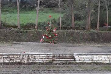 Χριστουγεννιάτικο δέντρο για… τρολάρισμα στην Καψοράχη