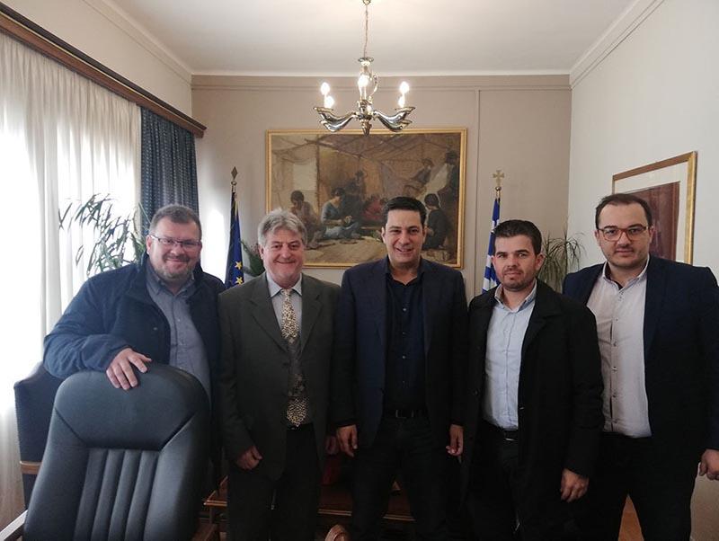 Στο επίκεντρο της συνάντησης Παπαναστασίου – Συνδέσμου Επιχειρηματιών Αιτωλοακαρνανίας  το 6ο Συμπόσιο Μάρκετινγκ