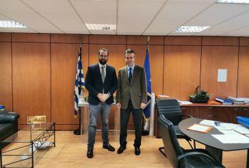 Ο Ν.Φαρμάκης σε σύσκεψη στην ΕΝΠΕ και  στις «Κτιριακές Υποδομές»