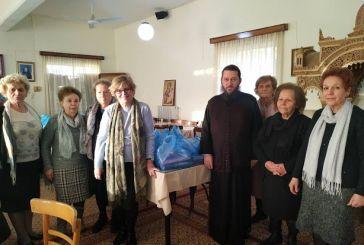 Διανομή τροφίμων και κρέατος για τα Χριστούγεννα σε 70 οικογένειες στην Αγία Τριάδα Αγρινίου (φωτο)