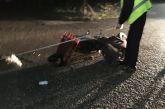 Τραυματισμός δικυκλιστή σε τροχαίο στον Άγιο Κωνσταντίνο Αγρινίου