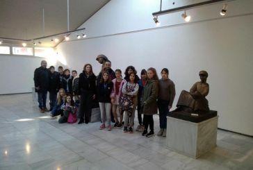 Το Καλλιτεχνικό Γυμνάσιο Μεσολογγίου στη Γλυπτοθήκη Καπράλου και στην έκθεση του Αγιογράφου Γ. Κόρδη στο Αγρίνιο