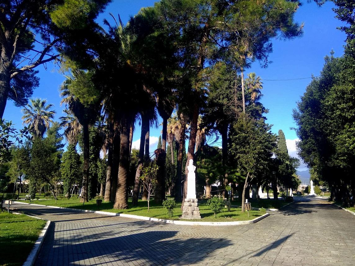 Ο Κήπος των Ηρώων στο Μεσολόγγι (φωτο)