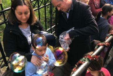 Χριστουγεννιάτικη γιορτή για τα παιδιά στο Κοινωνικό Παντοπωλείο  Ναυπακτίας