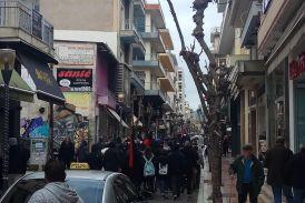 Eπέτειος Γρηγορόπουλου: μαθητική πορεία στο Αγρίνιο
