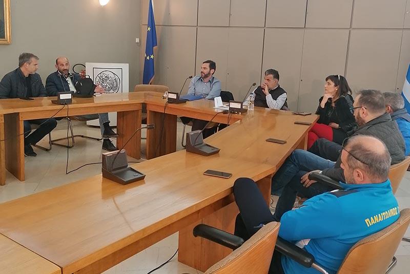Συνάντηση στο Αγρίνιο για τον αθλητισμό