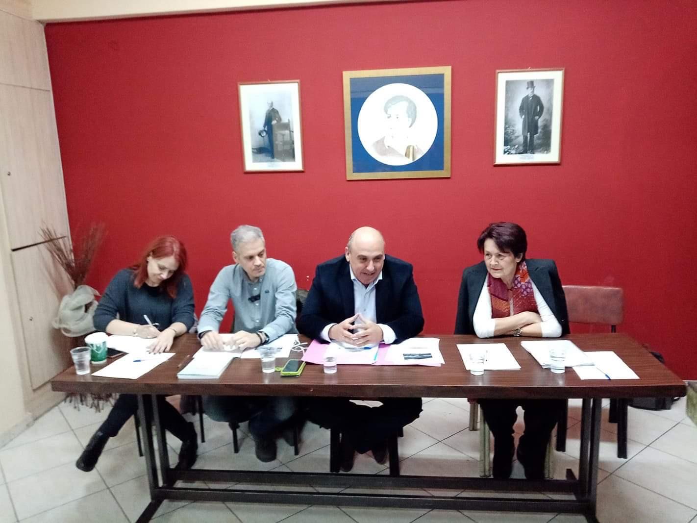 Συναντήσεις συλλόγων μελών της ΟΠΣΥΝ με τον Δήμαρχο Ναυπακτίας